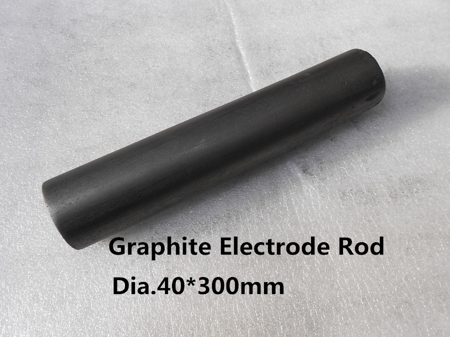 Dia.40*300mm graphite electrode rod/ carbon rod electrode , graphite rod for stirring molten metals цена