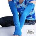 2016 Verão das Mulheres Mangas Esporte Armwarmer Proteção Solar UV Mangas Braço Aquecedores de Mulheres Esportes Ao Ar Livre Da Bicicleta Da Bicicleta Acessórios