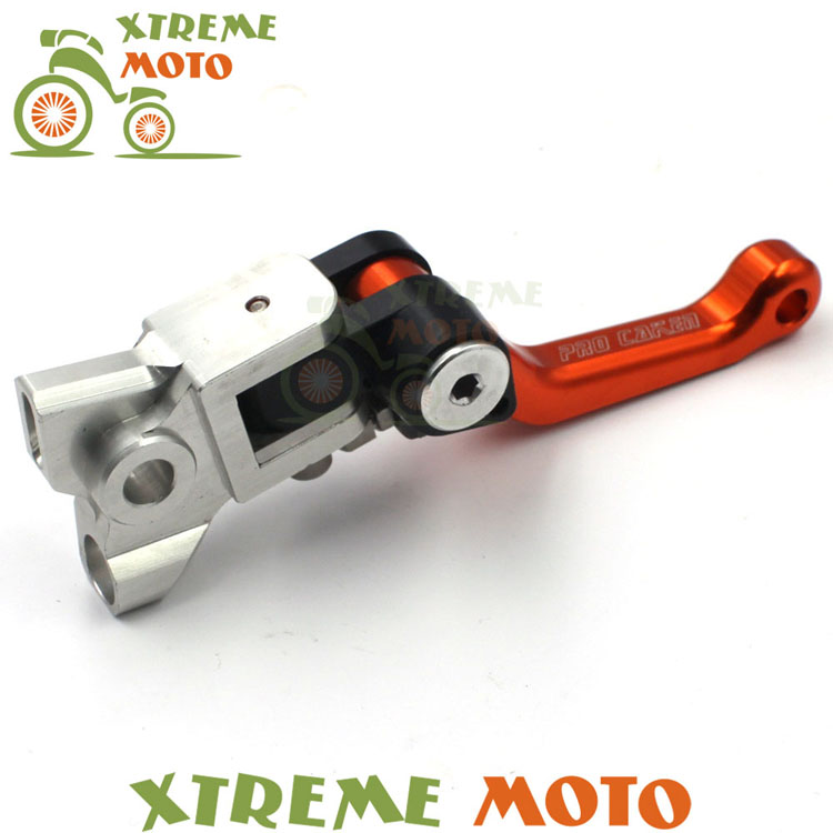 4 Directions CNC Foldable Pivot Clutch Lever For KTM EXC EXCF EXCR XC XCF XCW XCFW SX SXF SMR SXR SIX DAYS Motocross Dirt Bike stunt short mx clutch lever perch 2 fingers for ktm exc excf sx sxf sxs xc xcw xcf lc4 smr excw off road motorcycle