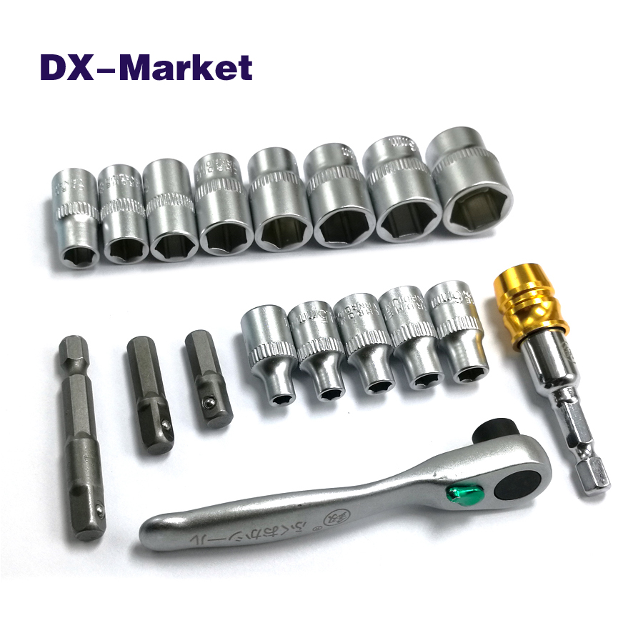4mm-14mm socket wrench set ,  High quality mini hex socket ratchet handle wrench DIY tools 46pcs socket set 1 4 drive ratchet wrench spanner multifunctional combination household tool kit car repair tools set
