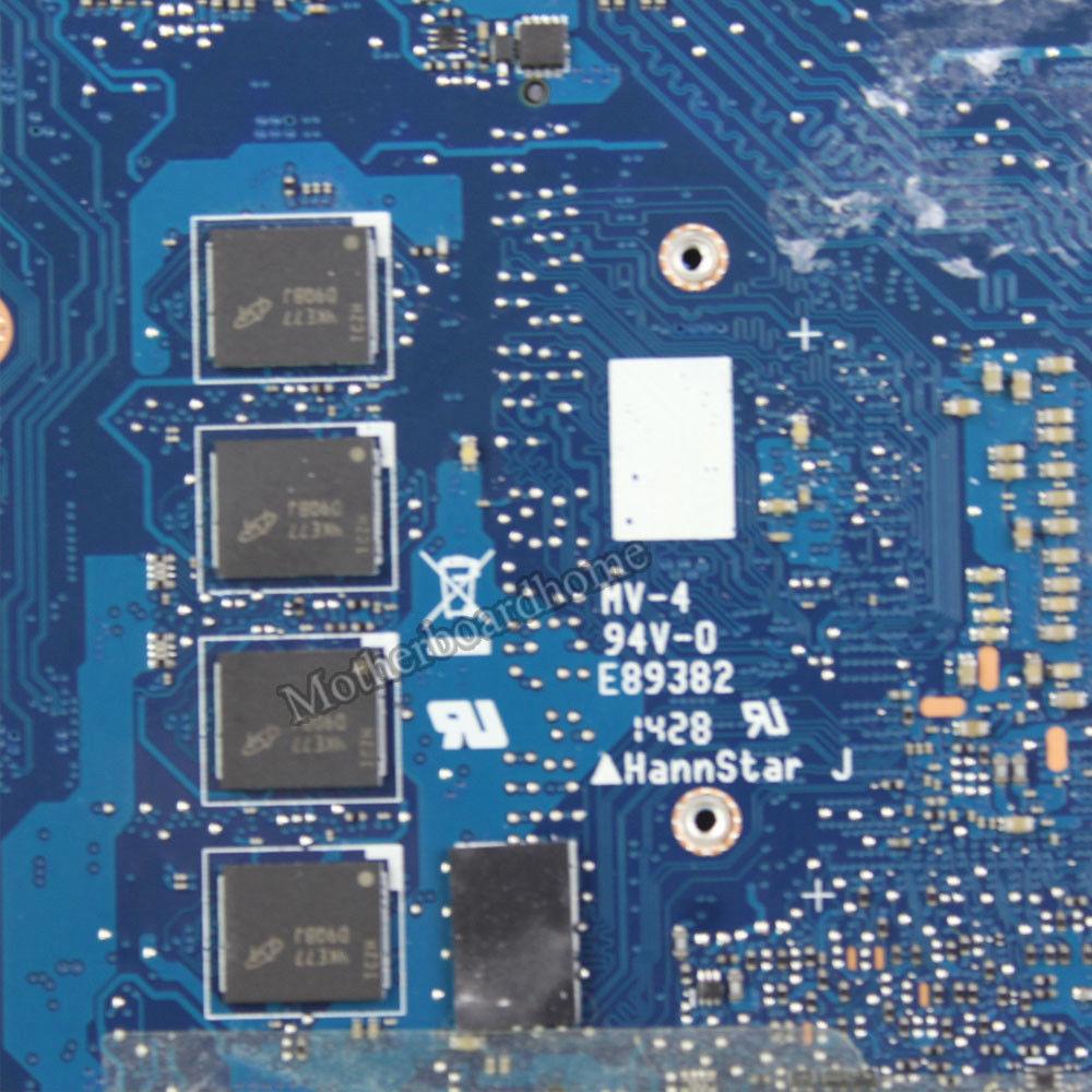 UX303LN Motherboard REV2.0 I5-4210U 4GB For ASUS UX303 UX303L Laptop Motherboard UX303LN Mainboard UX303LN Motherboard