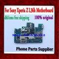Dhl/el ccsme envío libre y 100% abierto original placa base placa base para sony l36h xperia z con la viruta, 100% working