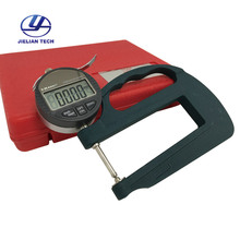 цена на 0~25mm Digital Display Micrometer Portable rubber thickness gauge BY06