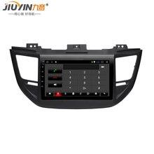 JIUYIN 1G+16G android 8.1 car dvd for Hyundai Tucson Car Radio Multimedia no 2 din Video Playe