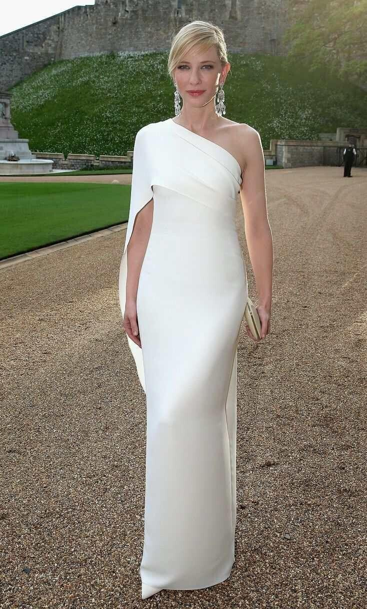 Popular Long White Evening Gown-Buy Cheap Long White Evening Gown ...