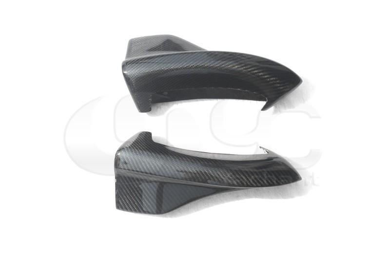 2008-2010 Subaru GRB STI Chargespeed Bottom Line Style Rear Bumper Spats Caps Corner Extension CF   (5)