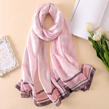 Luxury brand Women Silk scarf