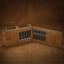 Luxury Retro Wallet Phone Case For iPhone (6 colors)