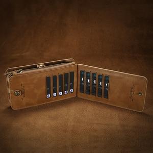 Image 4 - FLOVEME Wallet Phone Case For Samsung S7edge S8 S9 Plus S10 S20 Ultra Luxury Retro Leather Handbag Case for Samsung Note 8 9 10