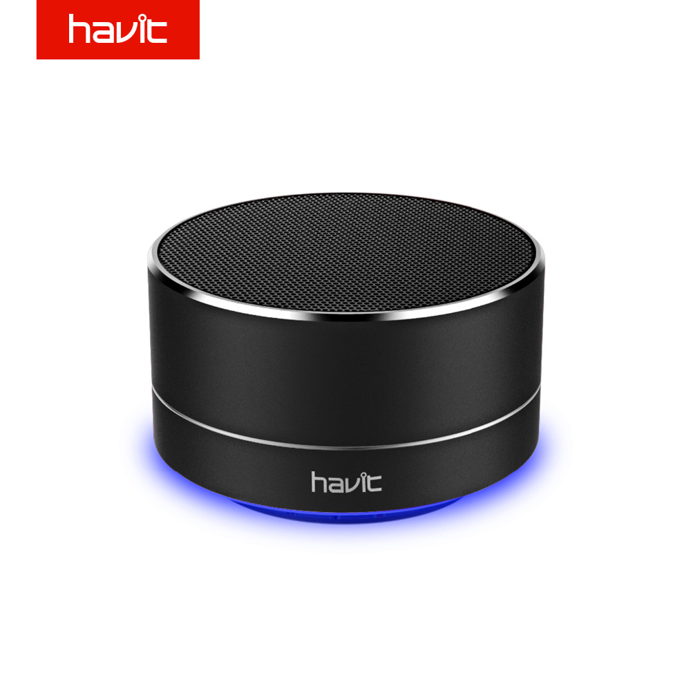 Havit Mini Altavoz Bluetooth Estéreo Súper Bajo Wirless Altavoz Portátil con 3.5mm Aux Tarjeta Micro SD Para Home Theater Party M8