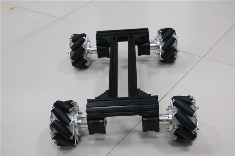 كبيرة الذكية RC سيارة روبوت هيكل معدني إطار مع 42 محرك متدرج لاردوينو DOIT 2018 جديد تصميم diy rc مجموعة ألعاب-في سيارات تعمل بالتحكم عن بعد من الألعاب والهوايات على  مجموعة 3