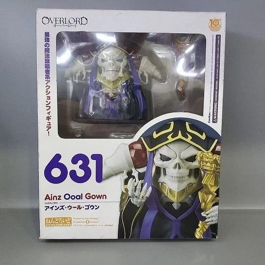 Anime Overlord Ainz OOal Gown Nendoroid 631 Cute Kawaii Super Hero 10cm Action Figure Toys 5