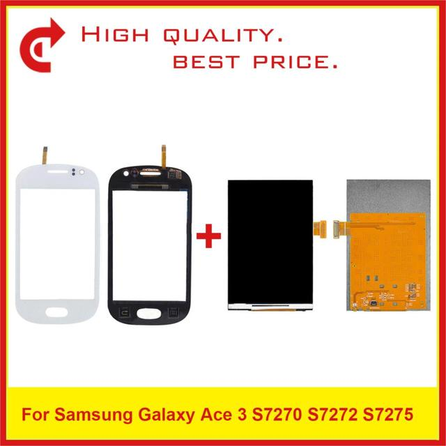 """High Quality 3.5"""" For Samsung Galaxy Fame S6810 S6812 LCD Display With Touch Screen Digitizer Sensor Panel+Tracking Code"""