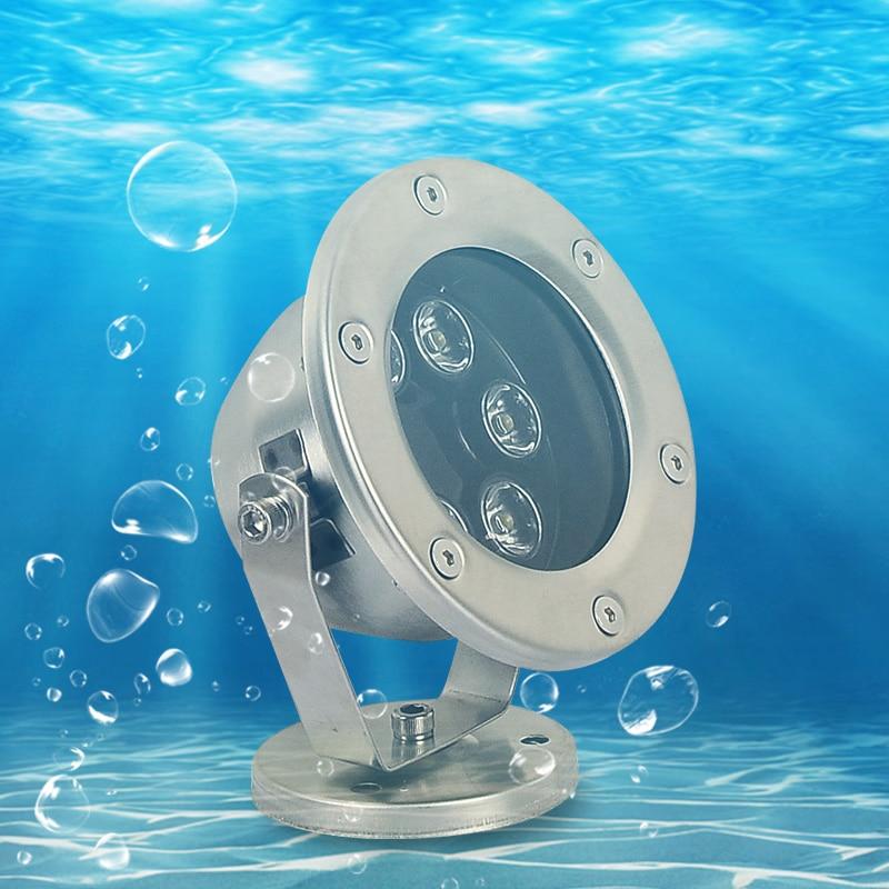 Led Lamps Led Underwater Lights 1pcs /lot Rgb Green Blue Yellow White 6w 9w 12w 18w 24w 36w Led Pond Flood Light Pool Spot Light Led Underwater Light Led
