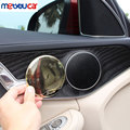 Fit For Mercedes Benz E Class W213 GLC C Class W205 2016 2017 Car Accessories Chrome Door Speaker Cover Trim Sticker 4pcs