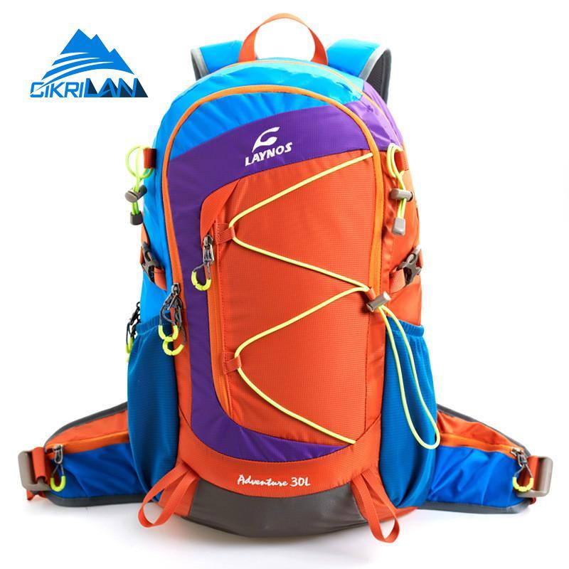 Hot Sale 30L Unisex Climbing Camping Outdoor Bag Women Men Travel Bags Sport Hiking Backpack Trekking Rucksack Waistband Mochila