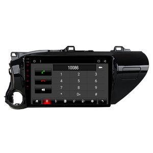 Roadlover Android 8,1 автомобильный Радио плеер головное устройство для Toyota Hilux 2017 Stere Автомобильный GPS навигация Авторадио 2 Din Восьмиядерный без DVD