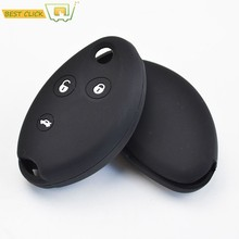 Silicone Case Capa Chave Para Citroen C5 C8 Xsara Picasso Berlingo Chaveiro Chave Titular Cadeia Fob Keyless Shell Pele Protector(China)