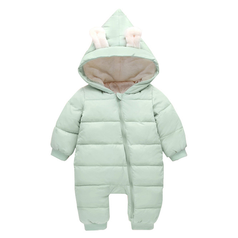 Baby Rompers Winter Jackets for Baby Girls Clothing Spring Autumn Coats Rabbit Ear Style Overalls For Baby Boys Newborn Clothes baby clothes baby rompers winter christmas costumes for boys girl zipper rabbit ear newborn overalls jumpsuit children outerwear