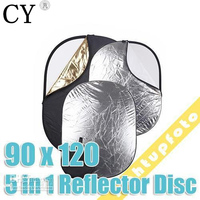 Collapsible 5 In 1 90 X 120cm 35 X 47 Reflector Disc PSCR3
