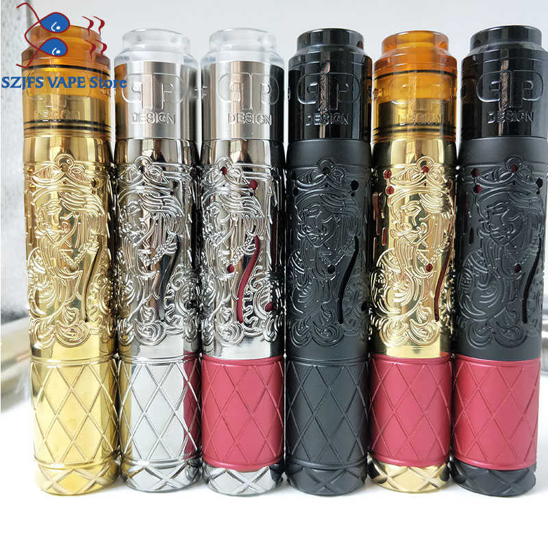 e-cigarette vape mods Suicide queen Mod and <font><b>QP</b></font> <font><b>KALI</b></font> <font><b>V2</b></font> <font><b>RDA</b></font> box mod kit 25mm diameter 510 with 18650 20700 21700mech vs zero image