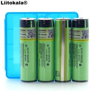 Image 2 - 4 PCS 2019 Liitokala מקורי 18650 3.7 V 3400 mah NCR18650B Lthium סוללה הגנת לוח מתאים עבור פנס סוללה