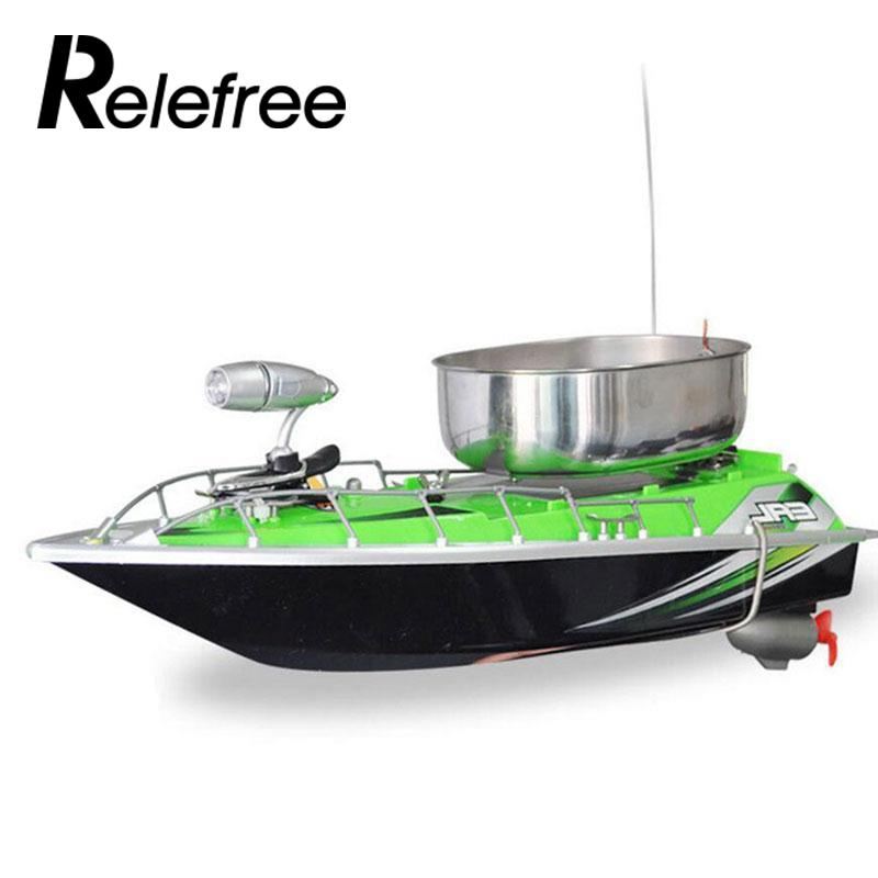 Relefree рыбы приманка фидер лодки 300 м пульт дистанционного управления USB Перезаряжаемые Рыбалка приманка Метатель мини-быстрый фидер лодка 8часов / 9600MAH