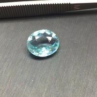 Рекомендуем AIGS сертификат 4.7ct натуральный синий зеленый Paraiba Турмалин драгоценные камни свободные камни Сыпучие камни