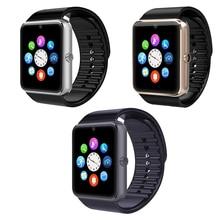 GT08 Smart Uhr Unterstützung 2G GSM SIM TF Karte Smartwatch Bluetooth anti-verlorene Armbanduhr MP3 Sport Uhr Für iOS Android-Handy männer