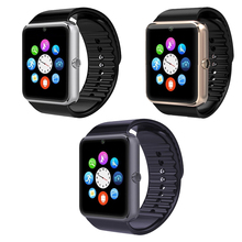 GT08 Smart Watch Support 2G GSM SIM TF Card Smartwatch Bluetooth Anti-lost Wristwatch MP3 Sport Clock For iOS Android Phone Men