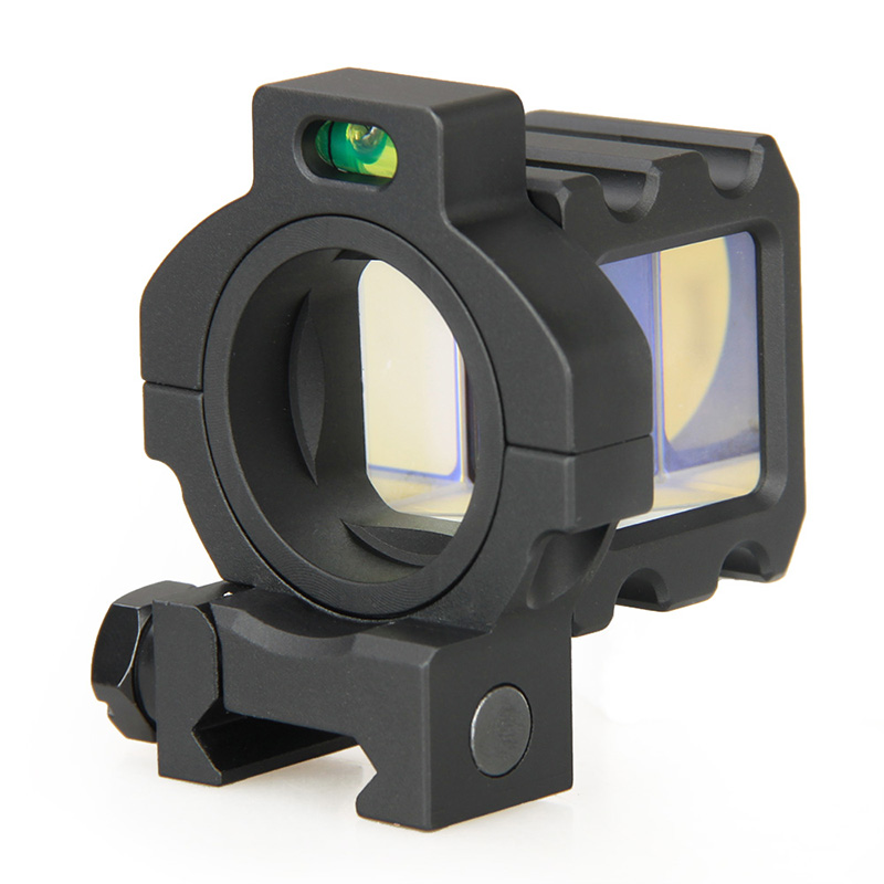 New Tactical Scope Angle Sights Reflex Behind Corner Sight 360 Rotate Reflect Mirror W/ Standard Picatinny Mounts VI1022