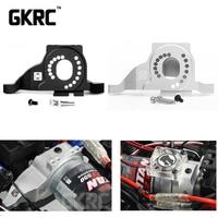 Aluminum Metal Motor Mount For 1/10 Rc Crawler Traxxas Trx 4 Original Upgrade #8290