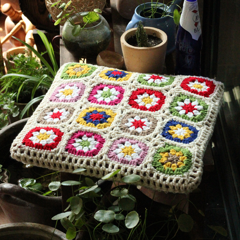38cmx38cm Hot sale sofamat exquisite chair mat handhooked fashion crochet cushion pastoral style gift38cmx38cm Hot sale sofamat exquisite chair mat handhooked fashion crochet cushion pastoral style gift