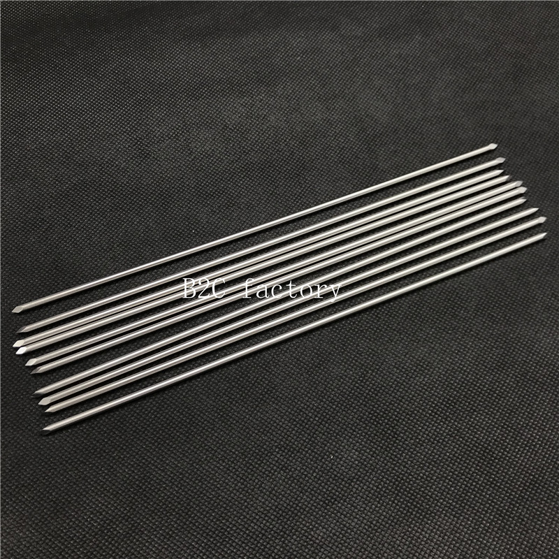 New 10pcs Nice Stainless Steel Double-ended Kirschner Wires Veterinary Orthopedics Instruments