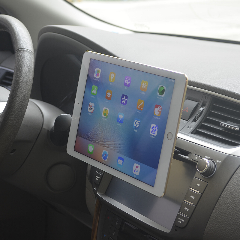 Magnetic Adsorption Tablet Car Holder CD Slot Mount for iPad 2018 / air 2 Tablets Holder Stand for iPad Pro 9.7/10.5Magnetic Adsorption Tablet Car Holder CD Slot Mount for iPad 2018 / air 2 Tablets Holder Stand for iPad Pro 9.7/10.5