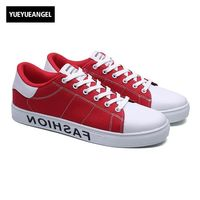 2017 Autumn New Fashion Lace Up Round Toe Mens Canvas Casual Shoes Male Footwear Korean Style