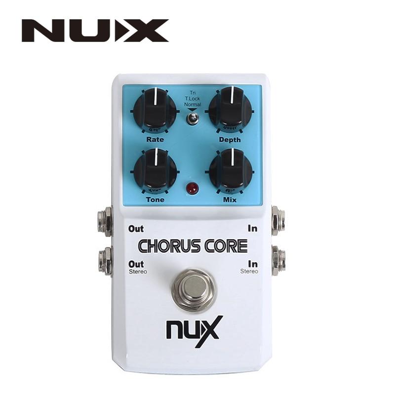 NUX Chorus Core Guitar Effects Pedal Aluminum Alloy Housing True Bypass mooer ensemble queen bass chorus effects pedal