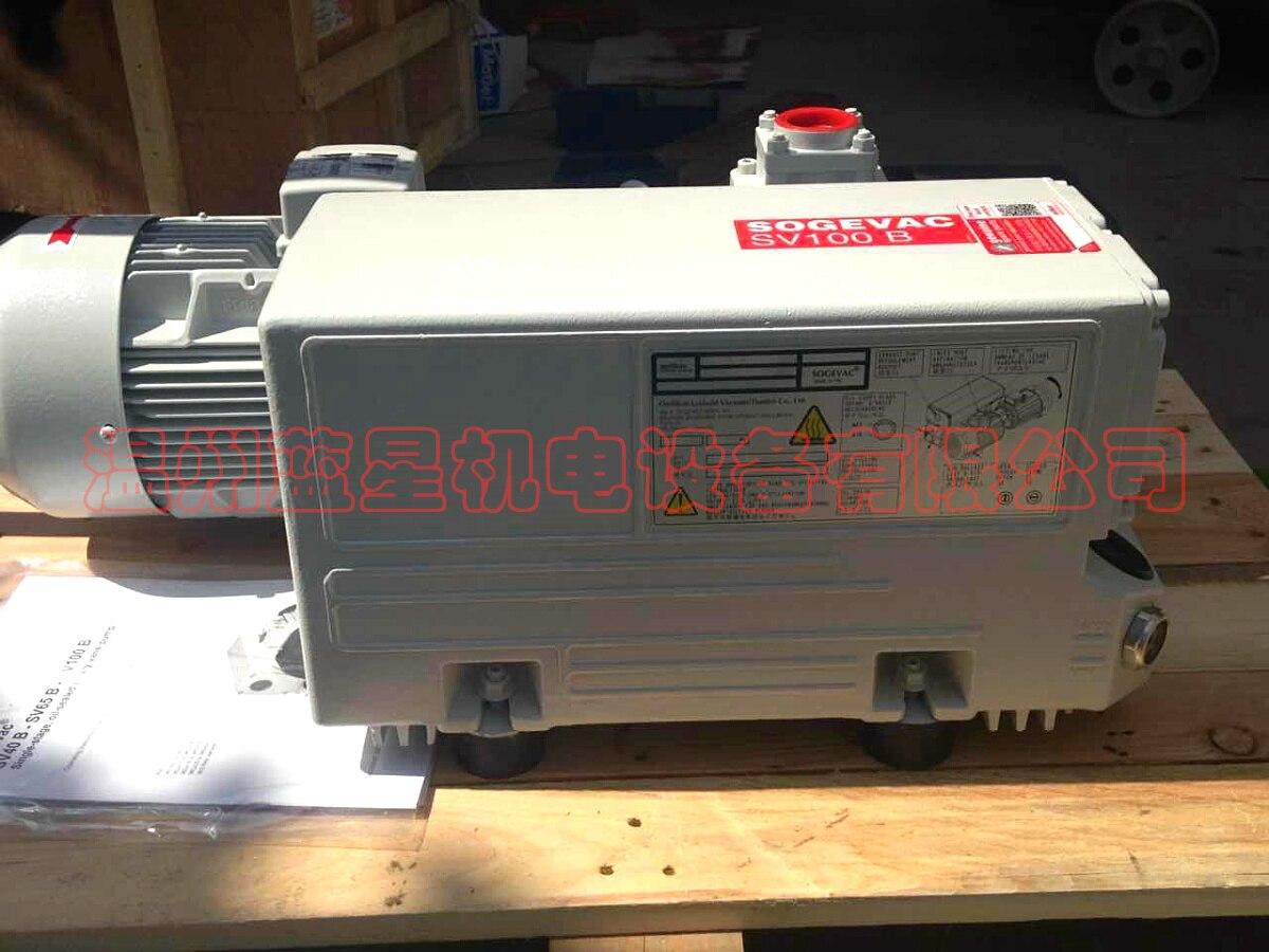 цена на Germany LEYBOLD vacuum pump SV100B oil lubrication rotary vane pump (100 cubic / h 380V)