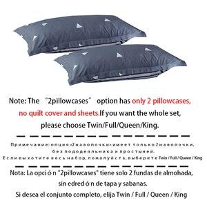 Image 2 - ParkShin Cartoon Bedding Set Rabbit Bedspread Blue Bed Flat Sheet Double Queen King Bedclothes Home Textiles Duvet Cover Set