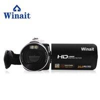 Winait 무료 배송 HDV-Z8 텔레스코픽 렌즈 1028 p 풀 hd 16x 줌 dv 캠코더  3''touch sceen max 24mp