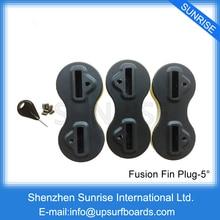 Free Shipping 5 Degree Fusion Fins Plug Black Surfboard Fin Plugs FCS Plugs Surf fusion fltv 24h100t black телевизор