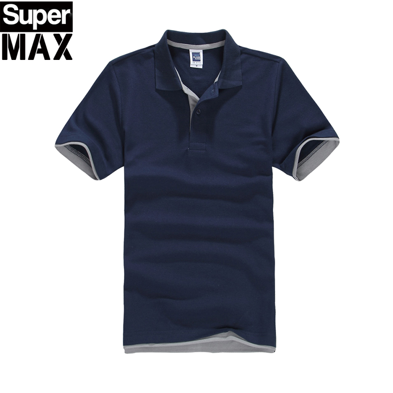 2016 New Brand Men's   Polo   Shirt For Men   Polos   Men Cotton Short Sleeve Shirt Jerseys Plus Size 3XL