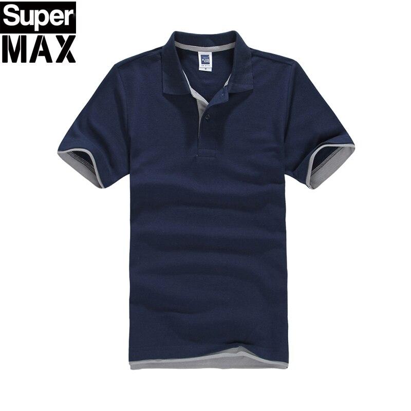 2016 Neue Marke Herren Polo Shirt Für Männer Polos Männer Baumwolle Kurzarm T-shirt Jerseys Plus Größe 3xl Modern Und Elegant In Mode