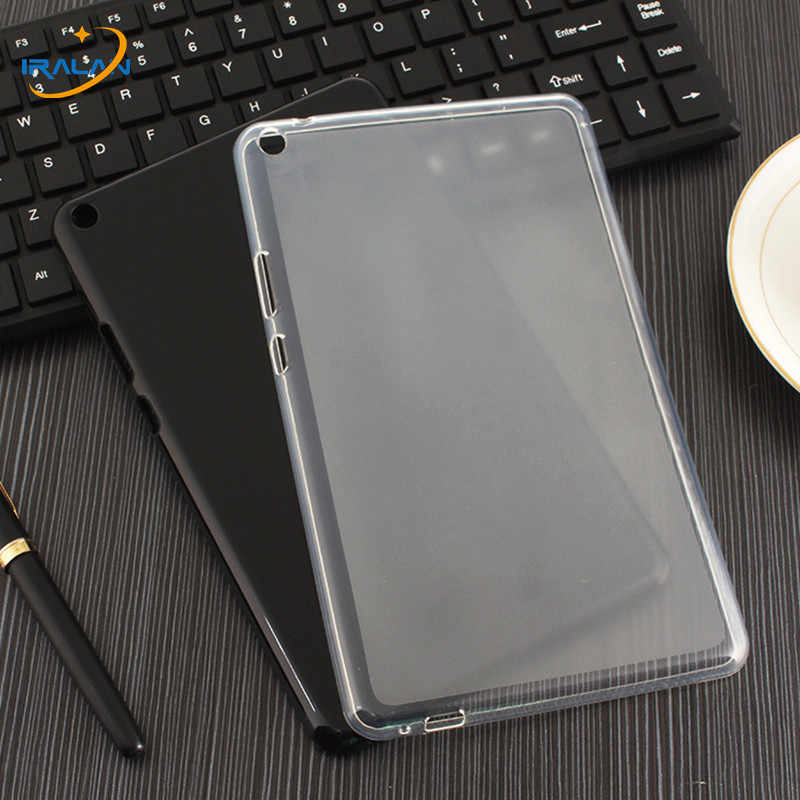 2018 Newultra Tipis Lembut Silicone TPU Cover Case untuk Xiao Mi Mi Pad 4 Mi Pad 4 Pad4 8.0 Inch tablet Tahan Air Kulit Shell Fundas