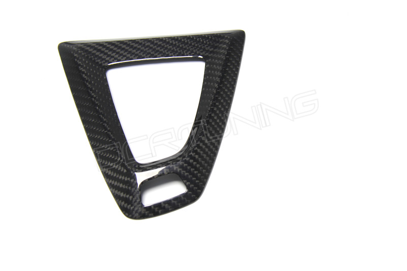 Carbon fiber Gear Shift Konb & Base Cover For BMW M2 F87 M3 F80 M4 F82 F83 Gear Surround Cover (2)