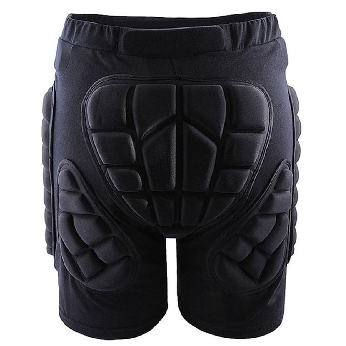 5шт( Открытый снаряжение Хип защитный шорты Skate катание на коньках сноуборд штаны, черный L