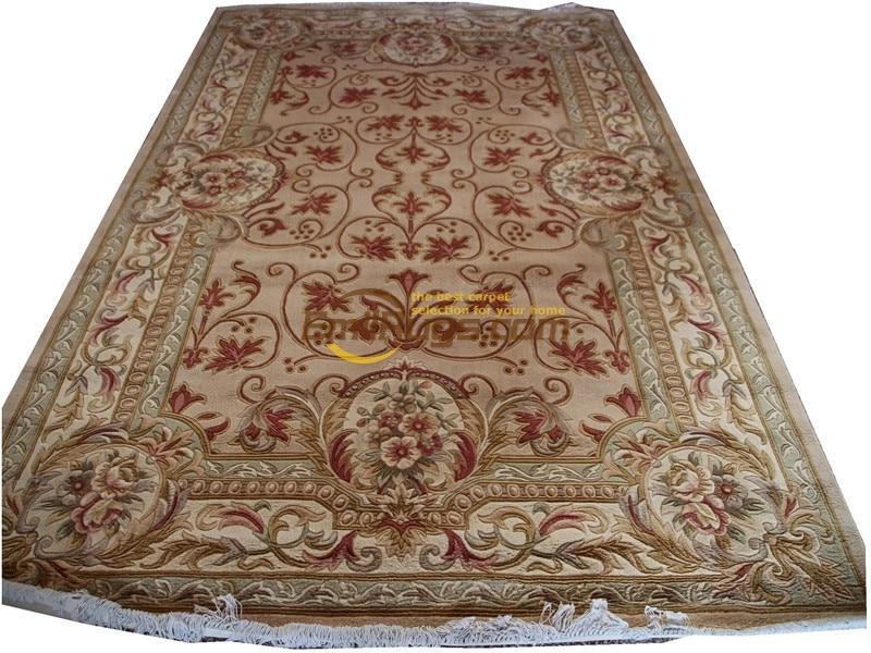 Savonnerie Floral Trellis Design Thick And Plush Rug Knitting Wool Rug Carpet Turkish Runner RugsSavonnerie Floral Trellis Design Thick And Plush Rug Knitting Wool Rug Carpet Turkish Runner Rugs