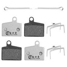 цена на Mtb Bike Brake Pads For HAYES Dyno Stroker Ryde Semi-Metal  Bike Disc Brake Pads 4 Pairs