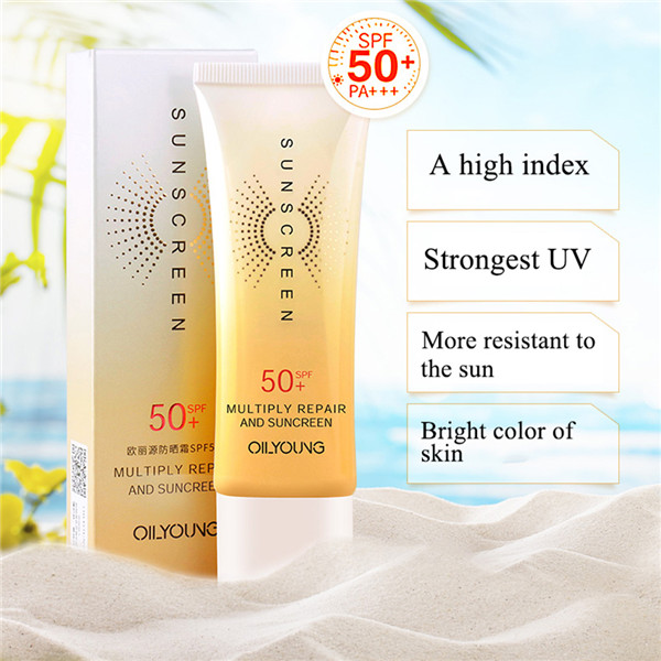 Facial Sunscreen Hydrating Control Oil Anti-Uv Spf 50+ Facial Isolation Sunscreen Cream