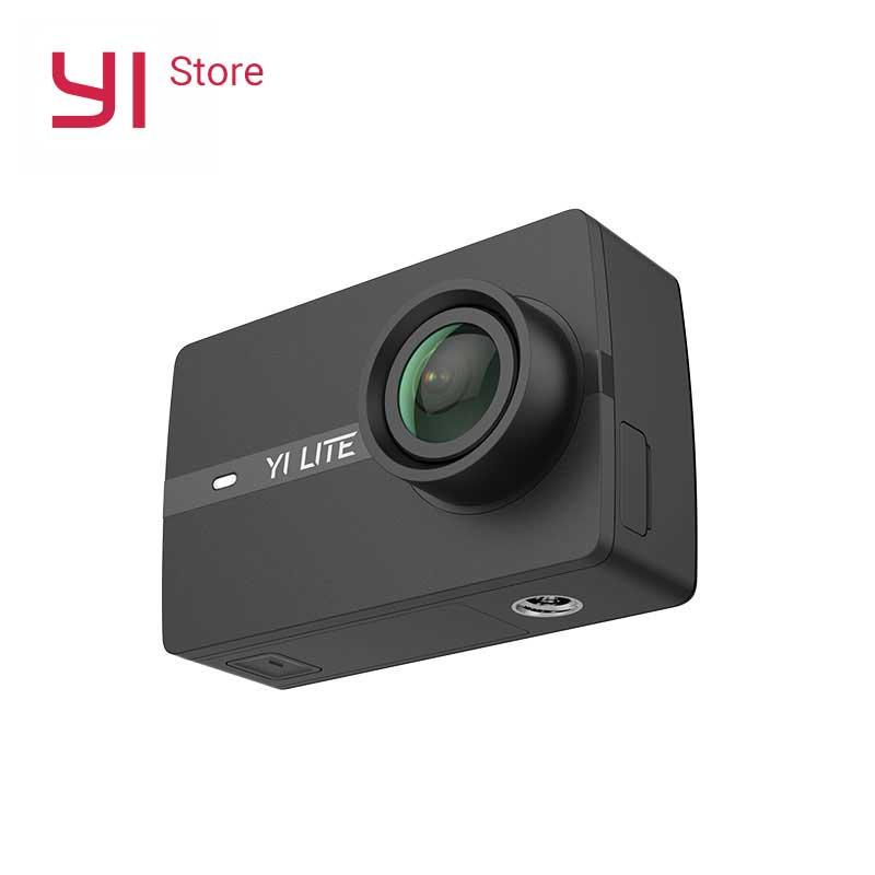 YI Lite D'action Caméra 16MP Réel 4 k Sport Caméra avec WIFI Intégré 2 pouce LCD Écran 150 Degrés Large objectif grand Angle